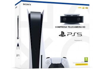 Sony PlayStation 5 825 GB STANDAR DIGITAL ED Wi-Fi + Telecamera HD ps5